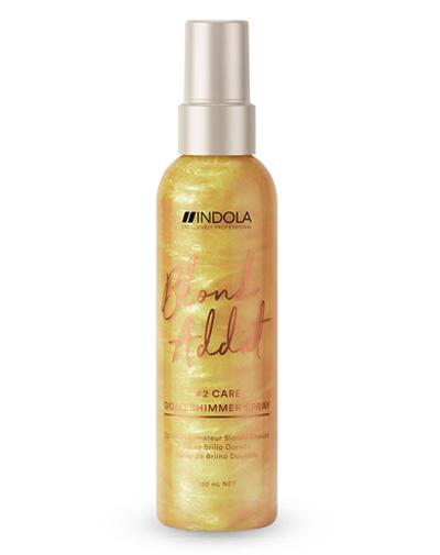 Indola Спрей INDOLA Blond Addict для придания золотого блеска, 150мл (Indola, Уход за волосами)