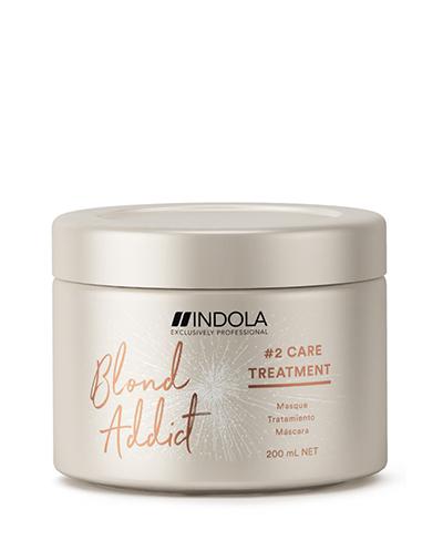 Купить Indola Маска Blond Addict для окрашенных и обесцвеченных волос, 200 мл (Indola, Уход за волосами)