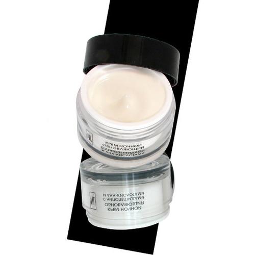 Купить Line Крем ночной обновляющий с липопептидами и АНА кислотами, 50 мл (New Line, New line Крема)