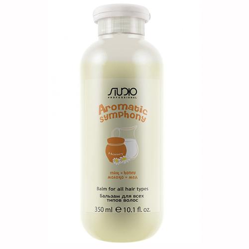Купить Kapous Professional Бальзам для всех типов волос «Молоко и мед», 350 мл (Kapous Professional, Kapous Studio)