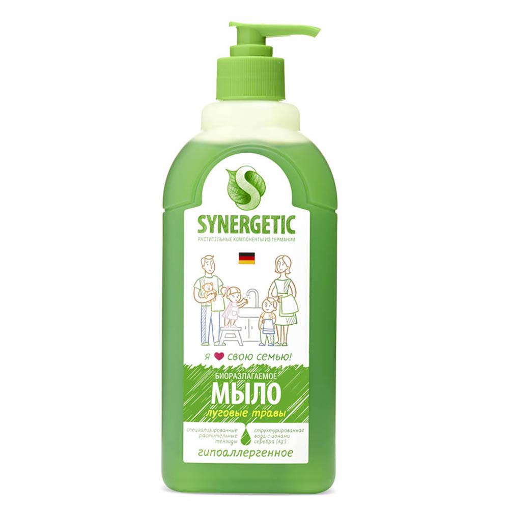 Купить Synergetic Жидкое мыло Луговые травы , 500 мл (Synergetic)