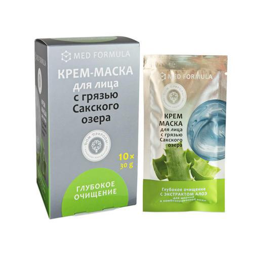Купить Дом природы Крем-маска Глубокое очищение для жирной и комбинированной кожи, 30г*10 шт (Дом природы, )