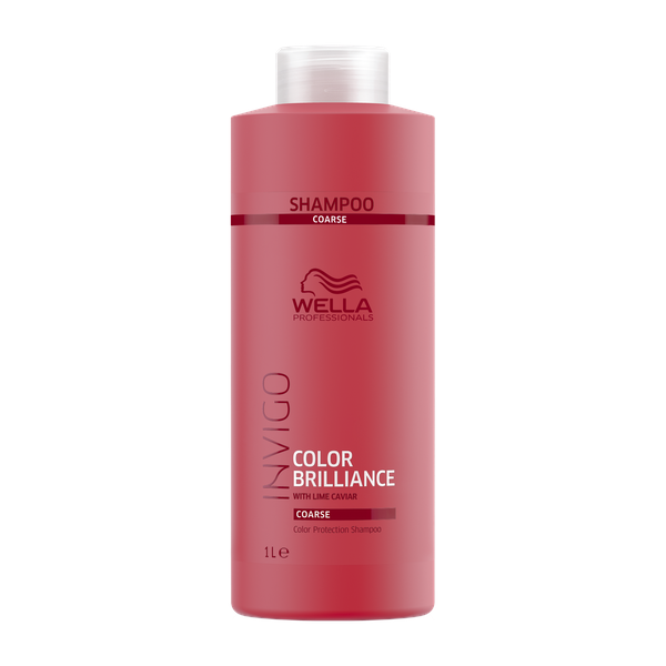 Wella Professionals Шампунь для защиты цвета окрашенных жестких волос, 1000 мл (Wella Professionals, Уход за волосами)
