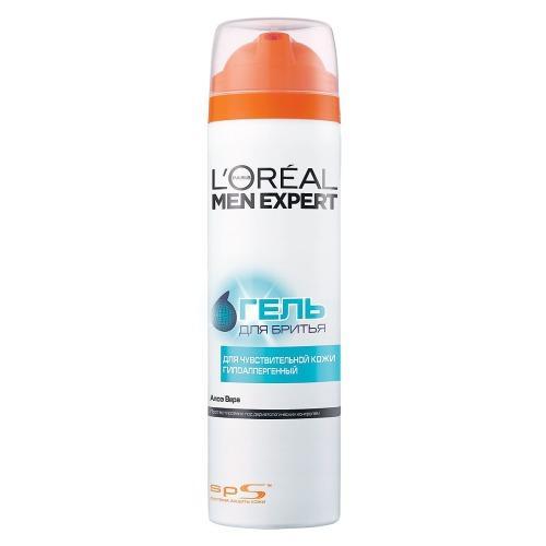 L'Oreal Paris Гель для бритья Гидра сенситив для чувствительной кожи 200мл (L'Oreal Paris, Men expert)