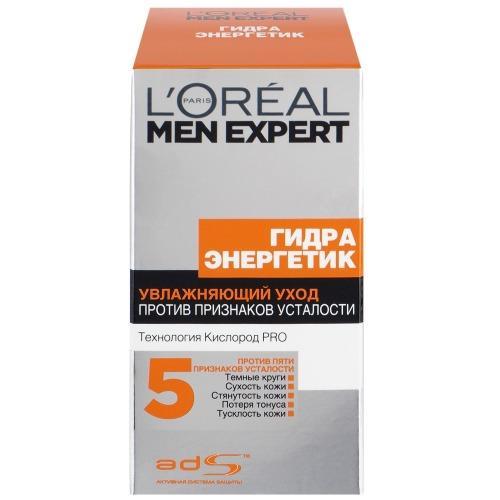 Купить L'Oreal Paris MEN EXPERT Уход для лица увлажняющий Гидра энергетик против пяти признаков усталости кожи 50мл (L'Oreal Paris, Men expert)