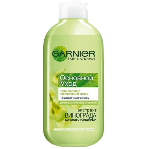 Купить Garnier ОСНОВНОЙ УХОД Тоник Освежающий для нормальной смешанной кожи 200мл (Garnier, Skin Naturals)
