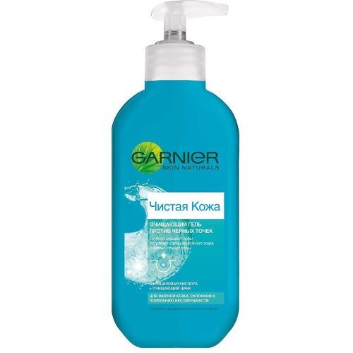 Купить Garnier ЧИСТАЯ КОЖА Гель для умывания Очищающий для жирной кожи 200мл (Garnier, Skin Naturals)