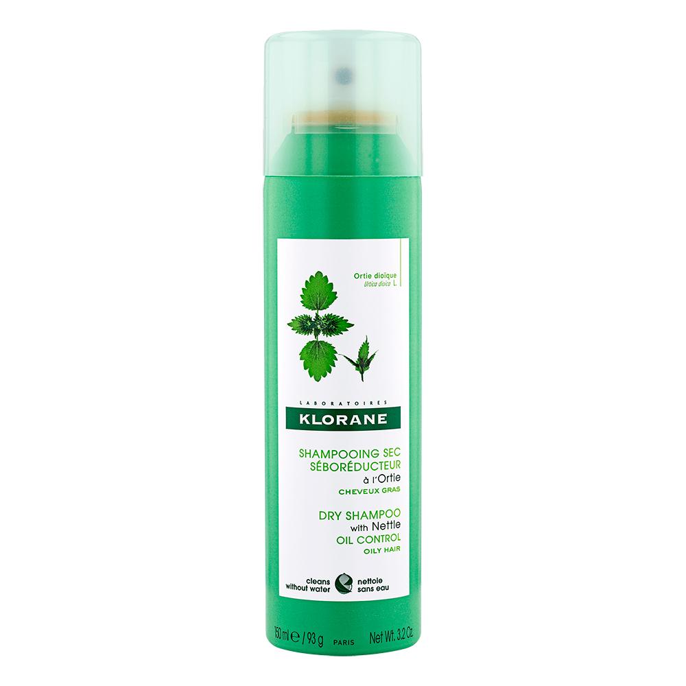 Купить Klorane Сухой шампунь с экстрактом крапивы, 150 мл (Klorane, Oily Prone Hair)