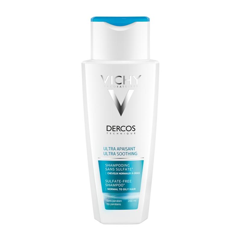 Купить Vichy Шампунь успокаивающий для чувствительной кожи головы, для нормальных волос, 200 мл (Vichy, Dercos)