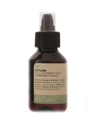 заказать Insight professional Гель - флюид для волос и бороды Hair & Beard Fluid Gel, 100 мл (Стайлинг, Insight Styling)