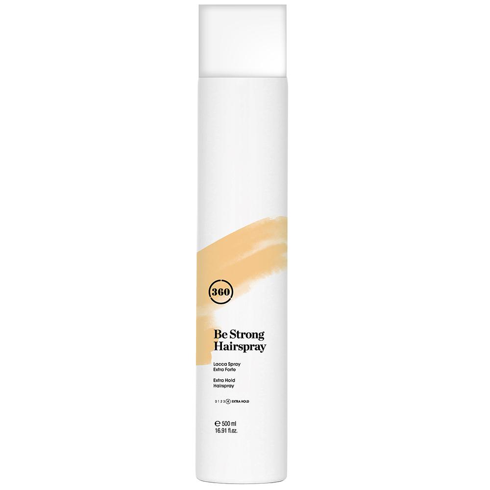 Купить 360 Лак для волос экстрасильной фиксации Be Strong Hairspray, 500 мл (360, Стайлинг)