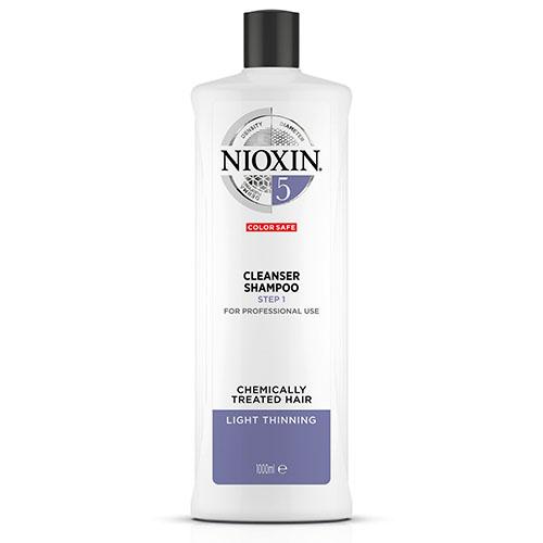 Купить Nioxin Очищающий шампунь (Система 5) 1000 мл (Nioxin, 3D система ухода)