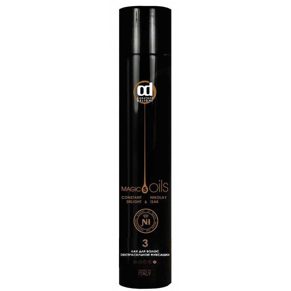 Купить Constant Delight Лак для волос экстрасильной фиксации без запаха 5 Масел №3, 400 мл (Constant Delight, 5 Magic Oils)