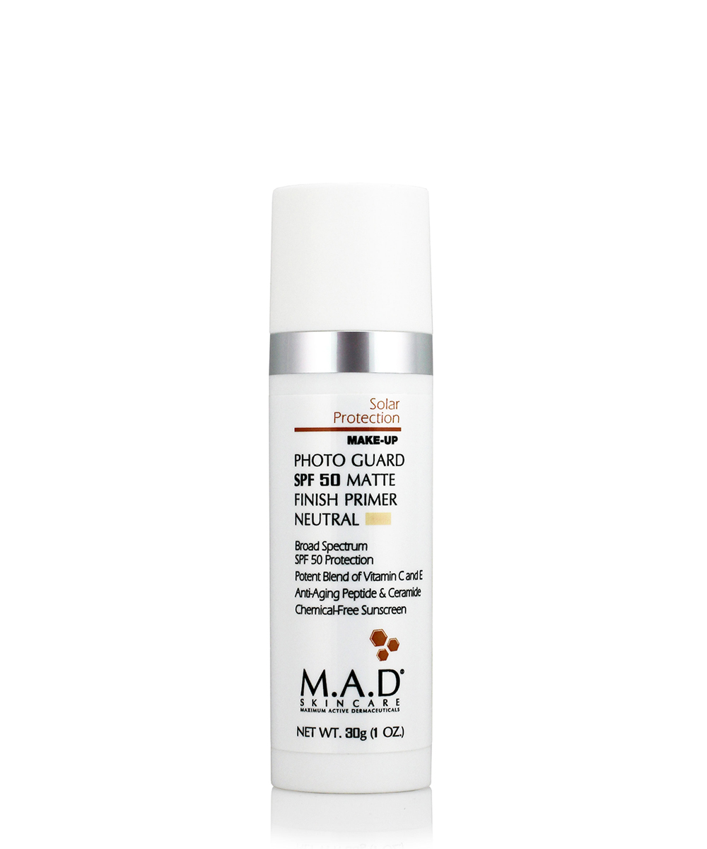 Купить M.A.D. Матирующий крем-праймер с защитой spf 50 neutral, 30 мл (M.A.D., Sun Protection)