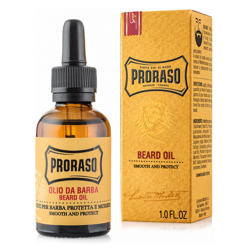 Proraso Масло для бороды Wood and spice, 30 мл (Proraso, Для ухода) proraso wood and spice moustache wax