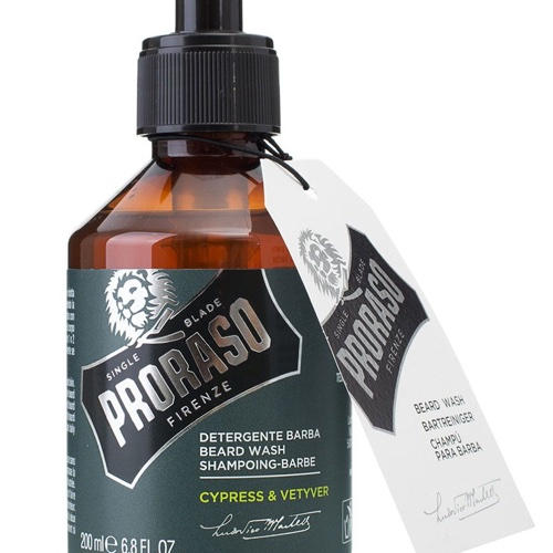 заказать Proraso Шампунь для бороды Cypress & Vetyver 200 мл (Для ухода)