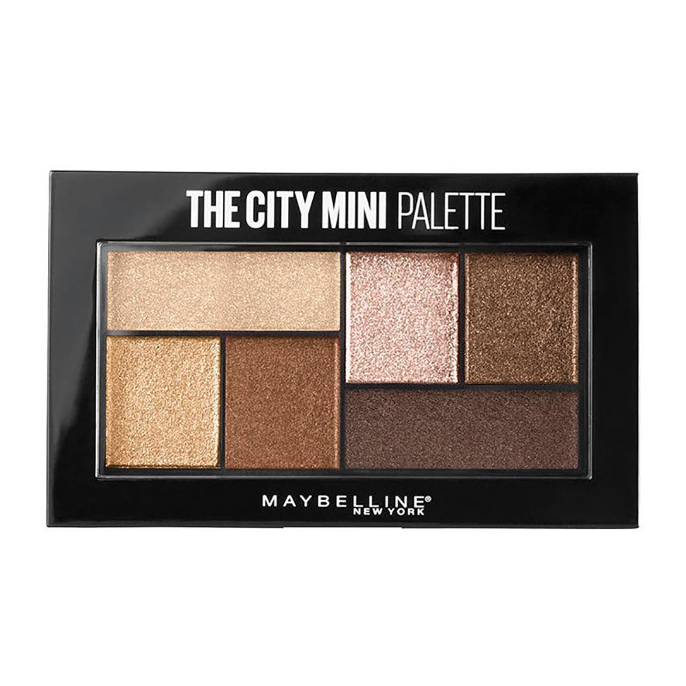 Купить Maybelline Палетка теней для век The City Mini, 6 гр - 400 Rooftop Bronzes (Maybelline, )