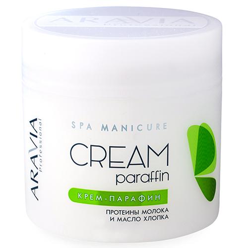 Купить Aravia professional Крем-парафин с молочными протеинами и хлопковым маслом Natural, 300 мл (Aravia professional, Aravia Professional)