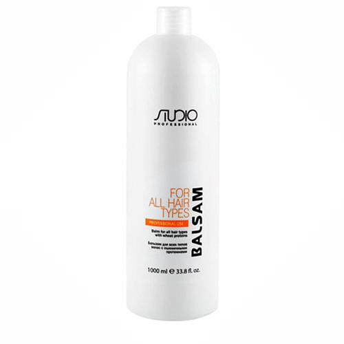 Купить Kapous Professional Бальзам для всех типов волос с пшеничными протеинами, 1000 мл (Kapous Professional, Kapous Studio)