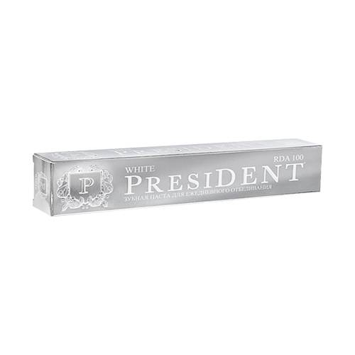 Купить President Отбеливающая зубная паста, 50 мл (President, White)