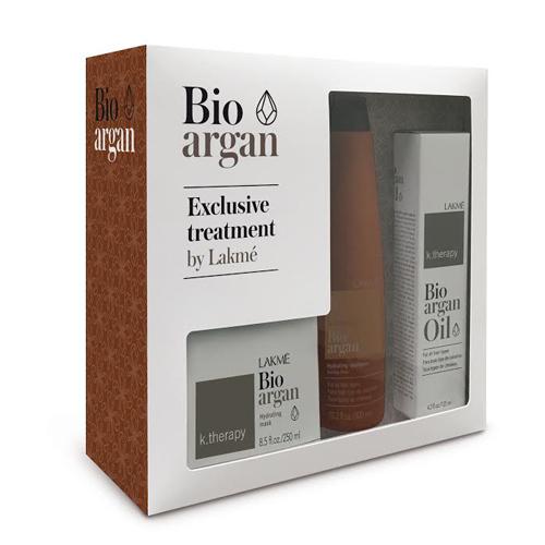 Купить Lakme Набор аргановый для восстановления: шампунь, маска, масло (Lakme, K.Therapy)