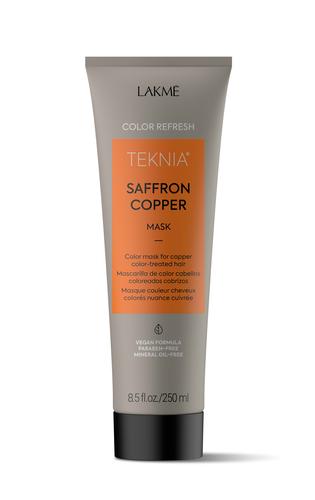 Lakme Маска для обновления цвета медных оттенков волос Color refresh saffron copper mask, 250 мл (Lakme, Teknia)