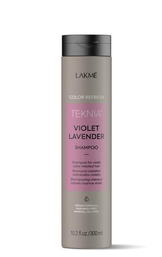 Lakme Шампунь для обновления цвета фиолетовых оттенков волос Refresh violet lavender shampoo. 300 мл (Lakme, )