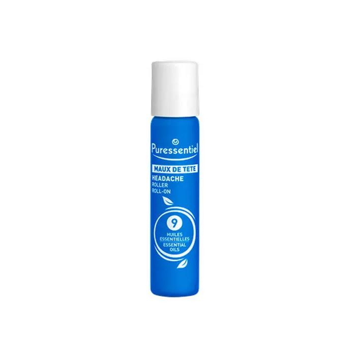 Puressentiel Успокаивающий роллер для снятия напряжения и облегчения стресса, 5 мл (Puressentiel, Хорошее самочувствие)