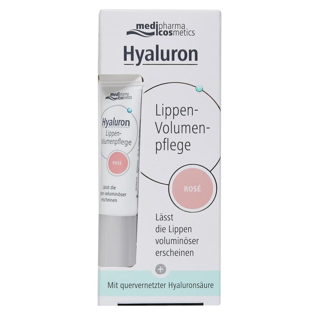 Купить Medipharma Cosmetics Бальзам для объема губ розовый, 7 мл (Medipharma Cosmetics, Pharma Hyaluron)