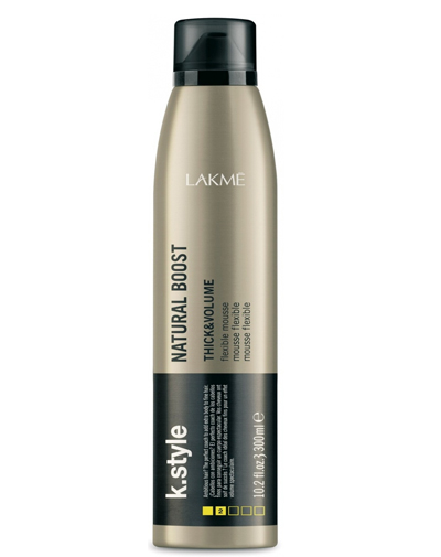 Купить Lakme Natural Boost Мусс для прикорневого объема 300 мл (Lakme, Стайлинг)