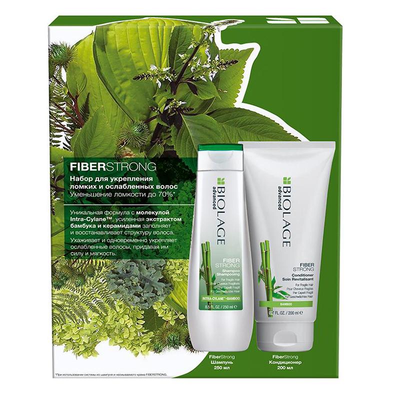 Купить Matrix Набор для укрепления тонких и ослабленных волос Biolage Fiberstrong (Шампунь Fiberstrong, 250 мл + Кондиционер Fiberstrong, 200 мл) (Matrix, Biolage)