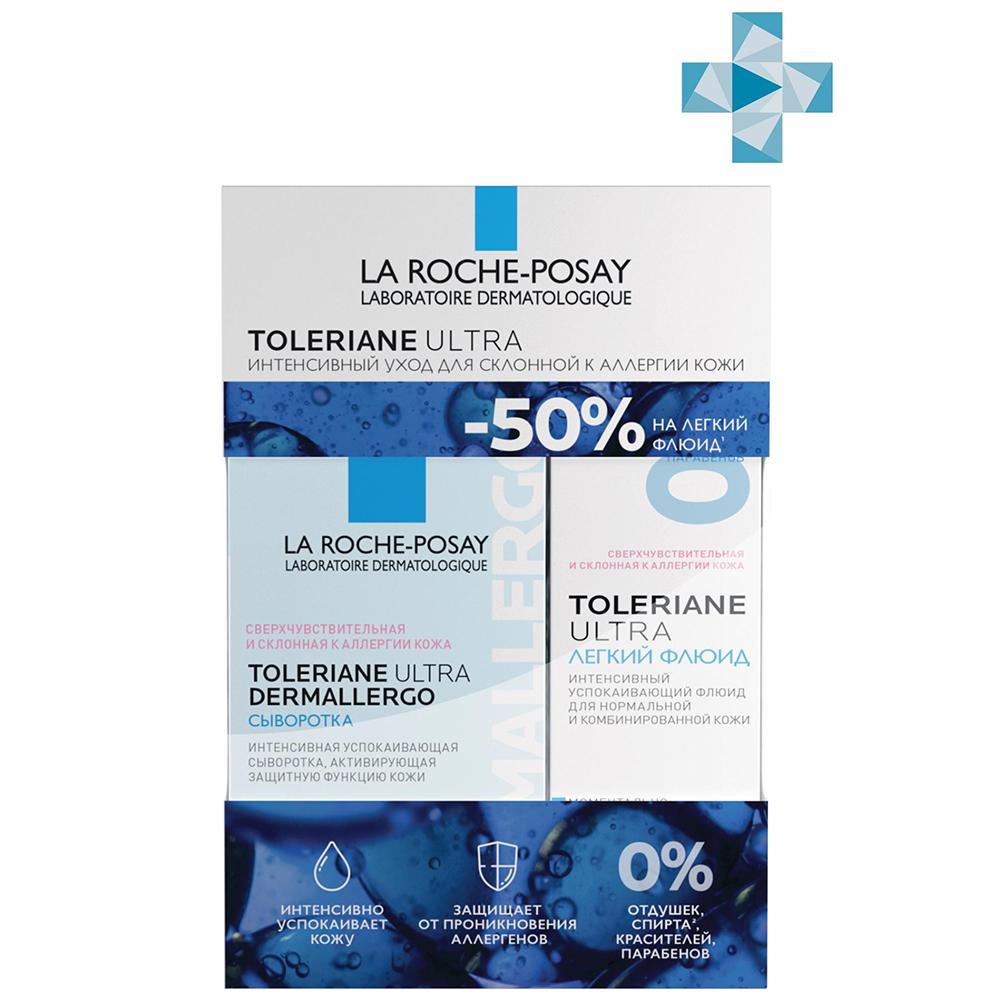 Купить La Roche-Posay Набор Toleriane (Интенсивная успокаивающая сыворотка Ultra Dermallergo, 20 мл + Флюид Ultra, 40 мл) (La Roche-Posay, Toleriane)