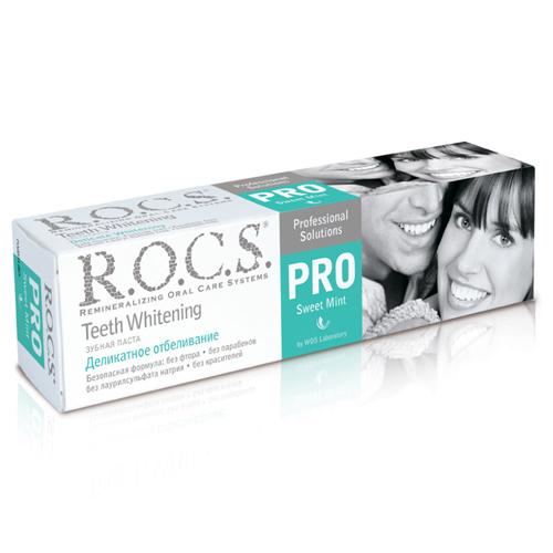 Купить R.O.C.S Зубная паста Сладкая мята, 135 г (R.O.C.S, R.O.C.S. PRO)