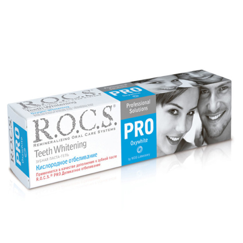 Купить R.O.C.S Зубная паста Кислородное отбеливание, 60 г (R.O.C.S, R.O.C.S. PRO)