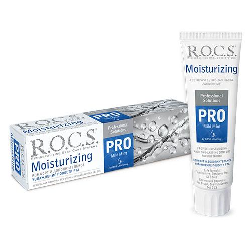 Купить R.O.C.S Зубная паста Moisturizing увлажняющая, 135 г (R.O.C.S, R.O.C.S. PRO)