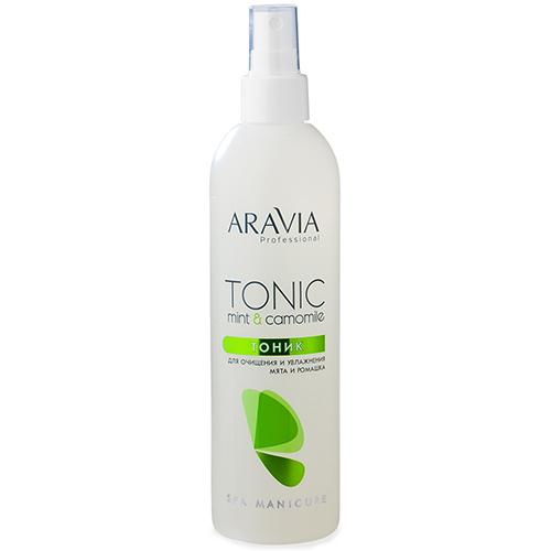 Купить Aravia professional Тоник для очищения и увлажнения кожи с мятой и ромашкой Tonic Mint & Camomile, 300 мл (Aravia professional, Aravia Professional)