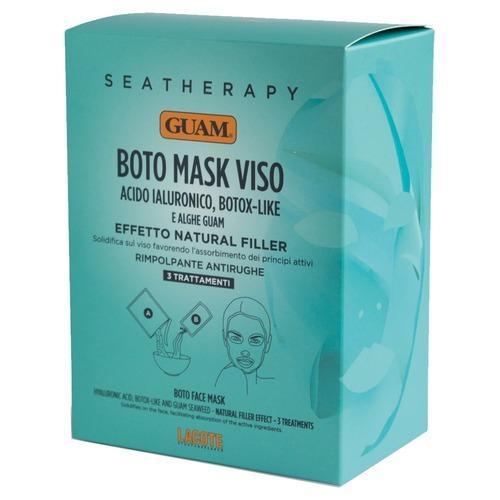 Купить Guam Маска для лица с гиалуроновой кислотой и водорослями, 3 шт (Guam, Seatherapy)