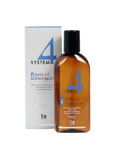 Sim Sensitive Шампунь №4 для очень жирной, чувствительной и раздраженной кожи головы 215 мл (Sim Sensitive, System 4)  - Купить