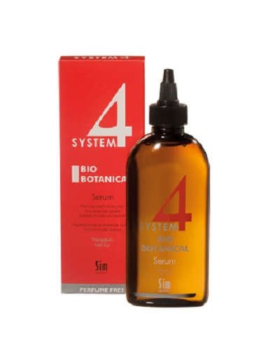 Sim Sensitive Био-Ботаническая сыворотка для роста волос 200 мл (Sim Sensitive, System 4)  - Купить