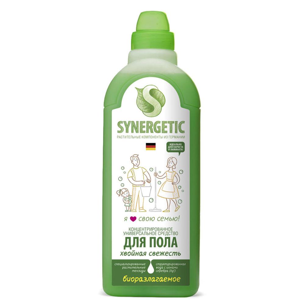 Купить Synergetic Средство для мытья пола Хвойная свежесть , 750 мл (Synergetic, )