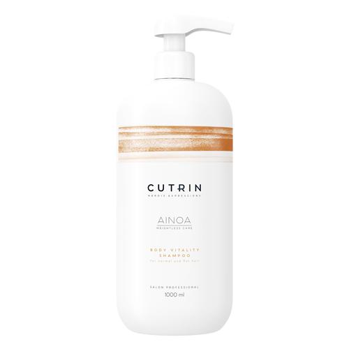Cutrin Шампунь для укрепления Body Vitality, 1000 мл (Cutrin, Ainoa)