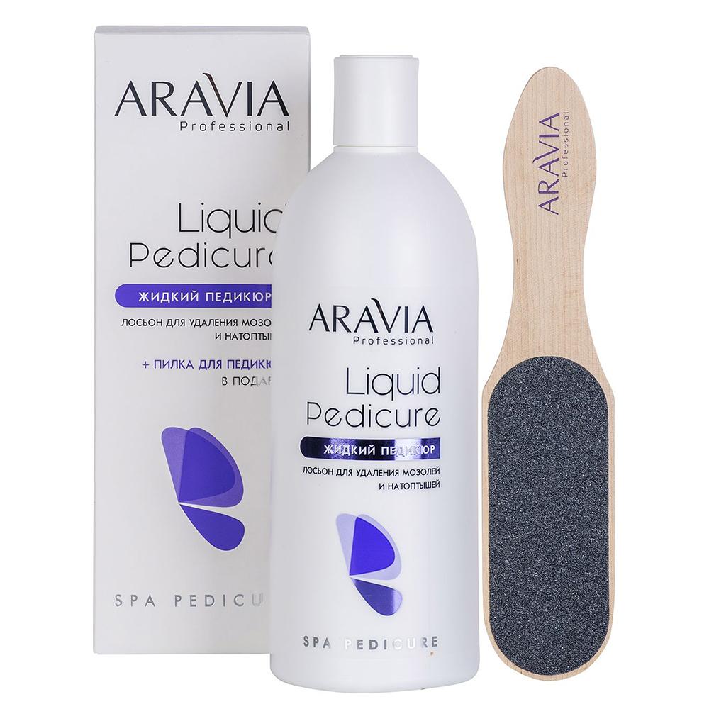 Купить Aravia Professional Лосьон для удаления мозолей и натоптышей Жидкий педикюр , 500 мл (Aravia Professional)