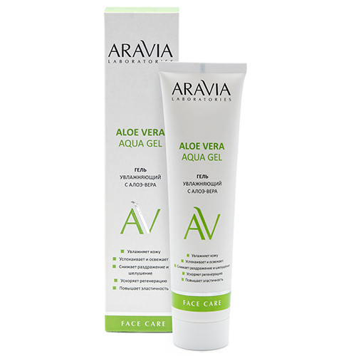 Купить Aravia Professional Увлажняющий гель с алоэ-вера Aloe Vera Aqua Gel, 100 мл (Aravia Professional, Aravia Laboratories)