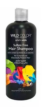 Купить Wildcolor Бессульфатный шампунь с маслом миндаля для окрашенных и поврежденных волос Sulfree Free, 500 мл (Wildcolor, Уход за волосами)