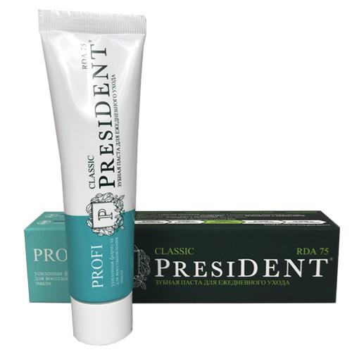 Купить President Зубная паста для ежедневного ухода, 50 мл (President, Classic)
