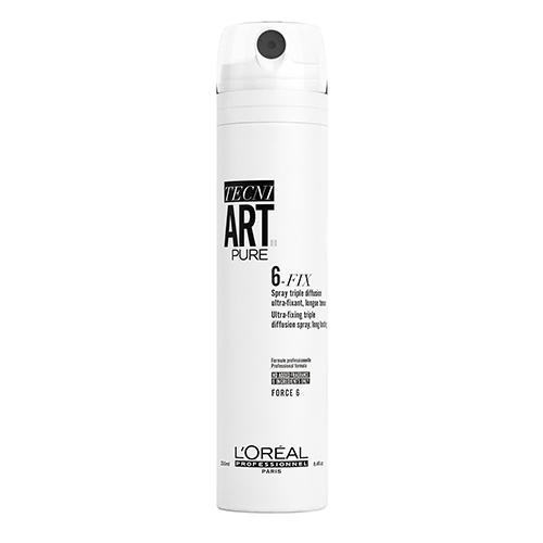 Купить L'Oreal Professionnel Спрей 6-Fix Pure для фиксации волос, 250 мл (L'Oreal Professionnel, Стайлинг)