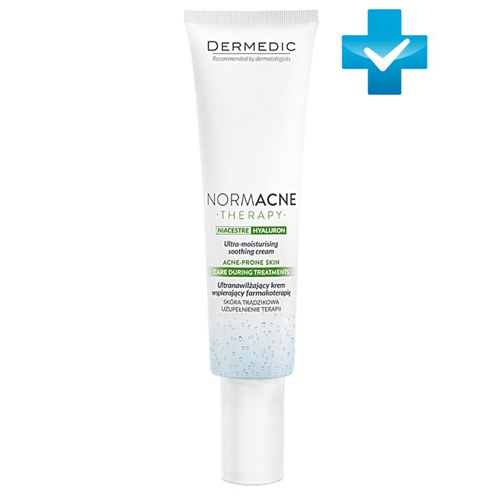 Dermedic Ультраувлажняющий успокаивающий крем, 40 мл (Dermedic, Normacne)