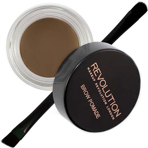 Makeup Revolution Помадка для бровей Brow Pomade, Medium Brown (Makeup Revolution, Лицо)  - Купить
