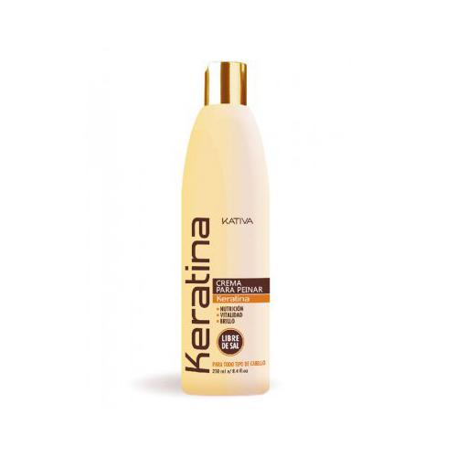 Купить Kativa Укрепляющий крем для укладки с кератином для всех типов волос 250 мл (Kativa, Keratina)
