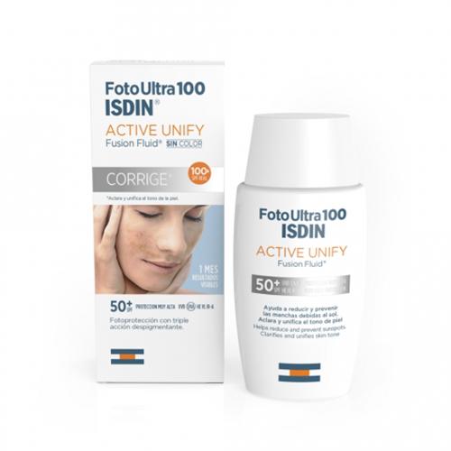 Isdin Флюид солнцезащитный для лица SPF 50+, 50 мл (Isdin, Foto ultra) недорого